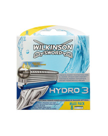 Wilkinson Sword Hydro 3 Razor Blades - Pack of 8