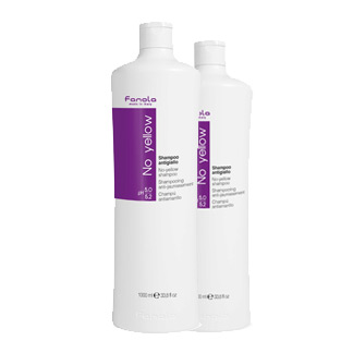 Fanola Anti Yellow Hair Shampoo No Yellow for Blonde Hair 350ml